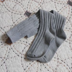 EUC Tall Grey Cable Knit Socks